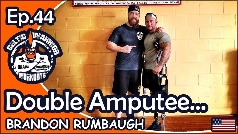 Ep 44 Double Amputee 500 Rep Back Legs Workout