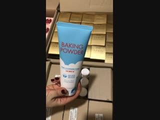 ETUDE HOUSE Очищающая пенка Baking Powder Pore Cleansing Foam