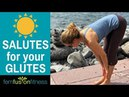 Half Sun Salutes for Your Back and Glutes Quick Workout