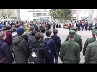 Проводы новобранцев в Президентский полк