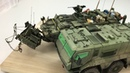 My new works of M1132 SMP Stryker in scale 1:35