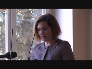 Доклад Нины Грачевой - председателя комитета образования администрации Тосненского района