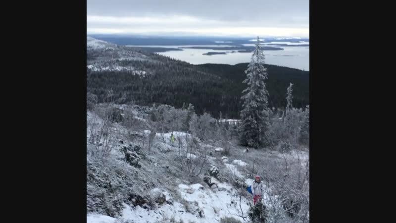 Поход на Волосяную гору к горному озеру
