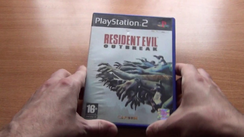Resident evil outbreak playstation 2 PAL