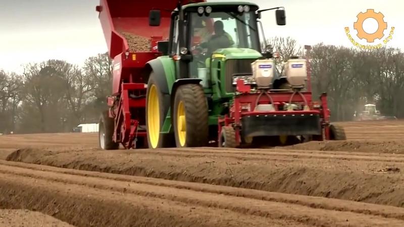 Как выращивают картошку в Германии.