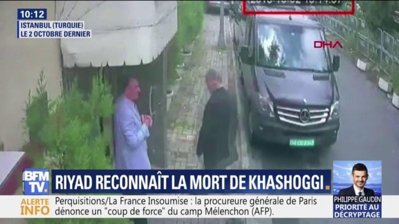 LArabie saoudite reconnaît que le journaliste Jamal Khashoggi a été tué au consulat dIstanbul