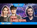 Eurovisión 2018: Isaura y Cláudia Pascoal desvelan el consejo que les dio Salvador Sobral