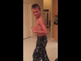 11 year old jersey boy dancing to Motown running man