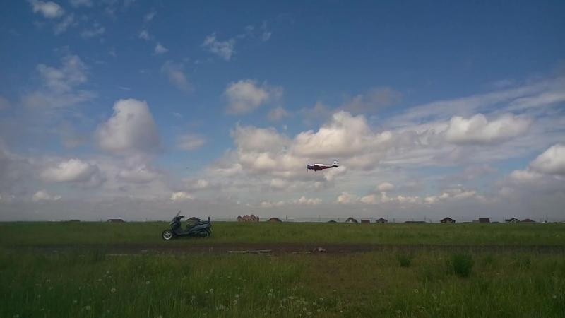 Одна из фигур пилотажа на Як-52