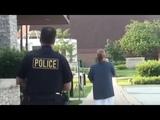 1st Amendment Audit Burr Ridge PD (Cop runs after our car)