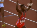 Carl Lewis Wins 100m Relay and Long Jump Gold Los Angeles 1984 Olympics копия
