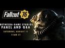 QuakeCon 2018 | Fallout 76 and Fan QA