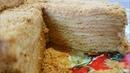 Торт Медовик с сметанным заварным кремом