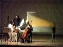 1029 J S Bach Sonata for Viola da Gamba in G minor BWV 1029 Wieland Kuijken Rosana Lanzelotte in Rio 1988
