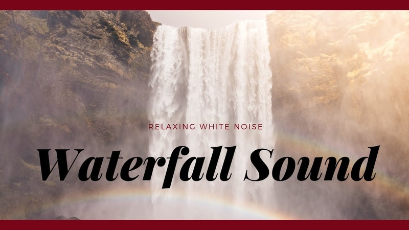 Relaxing Waterfall Sound | Water White Noise For Deep Sleep, Relaxation, Meditation Soothing Baby