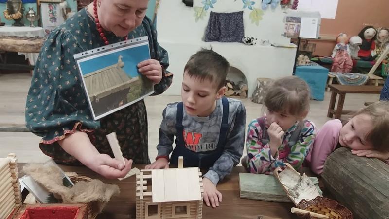 Экскурсия Как на Руси дом строили