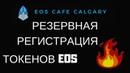ЭОС EOS резервная регистрация токенов для тех кто не успел ранее Голосование за блоки