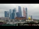 Москва. Утро. Вид из окна моего номера Президент-отеля. Утренние звуки города.Москва пробуждается.