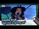 """Cecilia Krull My life is going on"""" 5 Para a Meia Noite RTP"""