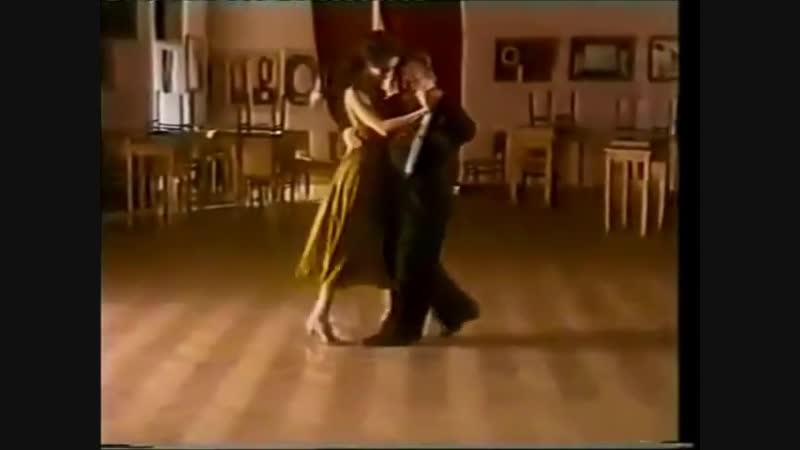 [Asi se baila milonga] - Pepito Avellaneda - Clase 3 Corridita de costado