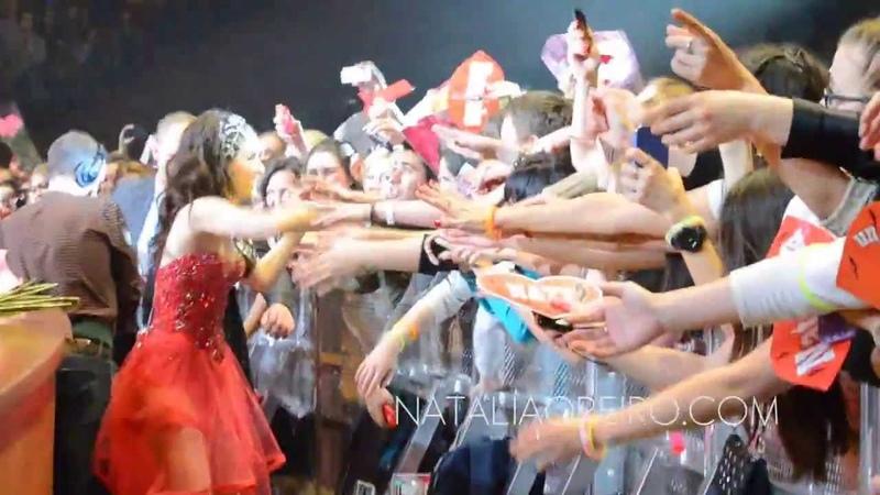 Natalia Oreiro Tour Hits 2013 Moscú 9 y 10 de diciembre de 2013