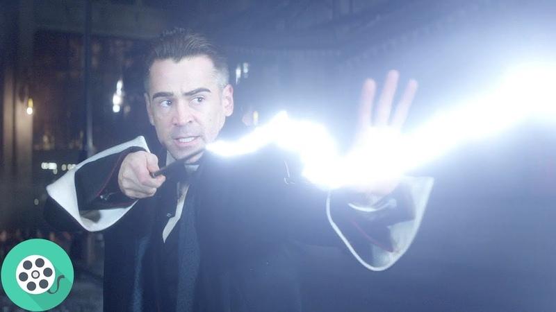 Криденс Бэрбоун показвает свою силу. Фантастические твари и где они обитают (2016) год.