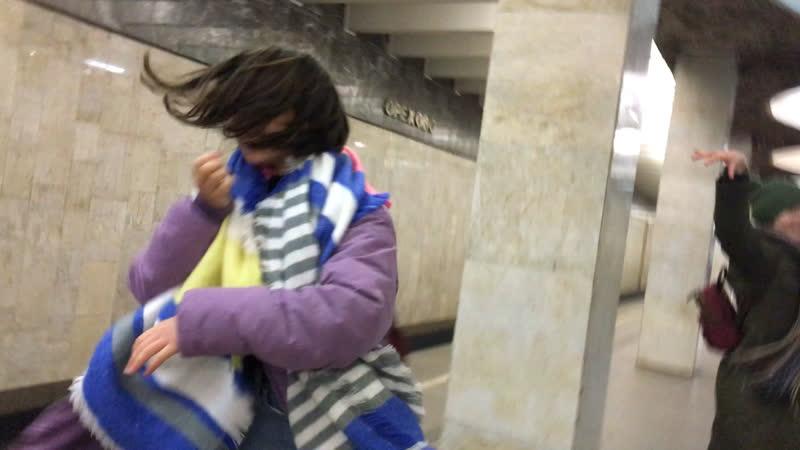 вальс свиридова в метро орехово