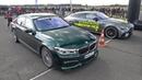 Alpina BMW B7 BiTurbo vs Mercedes-AMG GT63 S 4-Door 4MATIC