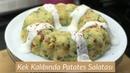 Kek Kalıbında Patates Salatası Tarifi Naciye Kesici Yemek Tarifleri