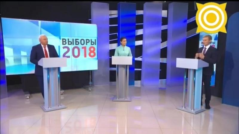 Дебаты Виктора Зимина и Валентина Коновалова 19 сентября на телеканале Россия 24