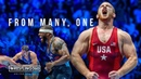 WRESTLING 360 From Many One United States Men's Freestyle