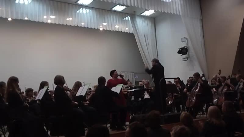Sari Kaasinen - Tämä kylä (final code) 06.11.18, Symphony orchestras of Karelian Philharmonic Joensuu.