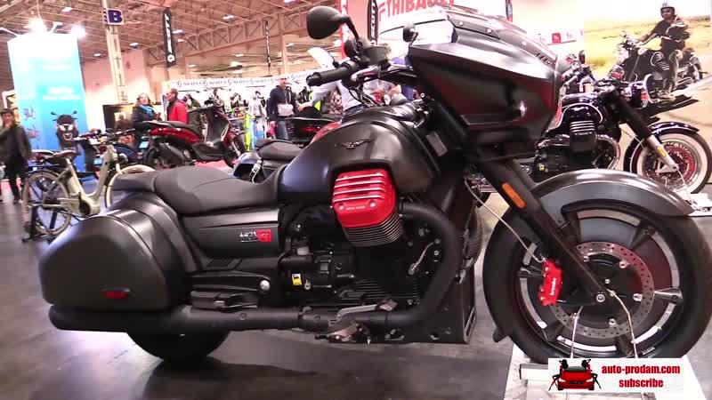 Moto Guzzi Audace 2018, Moto Guzzi California 2018, Moto Guzzi MGX 21 Flying Fortress 2018, Moto Guzzi V7 50th Anniversary 2018,