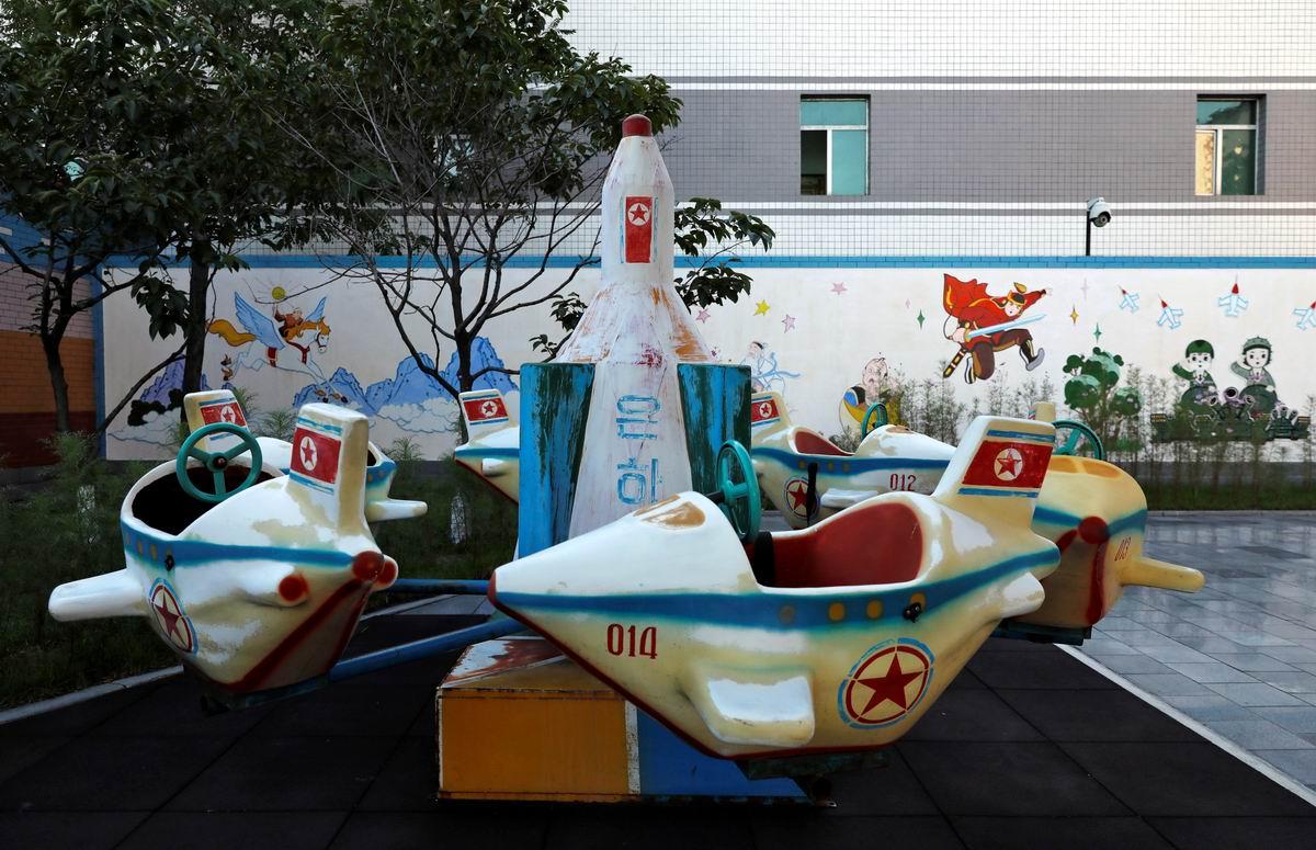 Космодром для детского сада: Северокорейская карусель