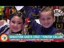 FINAL PRE INFANTES 2018 HD 58 CONCURSO NACIONAL DE MARINERA 2018