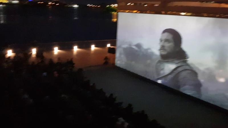 Финал «Игры престолов» на набережной в Казани