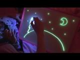 Рисуй светом набор для рисования в темноте