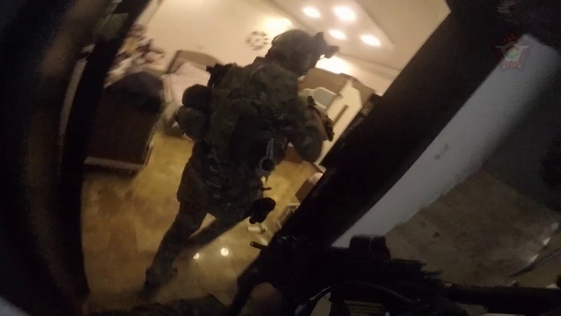 IRAQGO-PRO FOOTAGE OF KURDISTAN REGIONS COUNTER TERRORISM FORCES BUSTING ISIS SLEEPER CELL