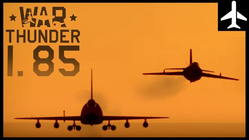 War Thunder   1.85 Supersonic Teaser