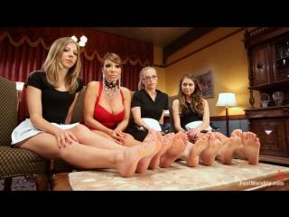 Footworship.com - ava devine, riley reid, penny pax, chastity lynn [foot fetish, foot worship, femdom, fisting, lesbians]