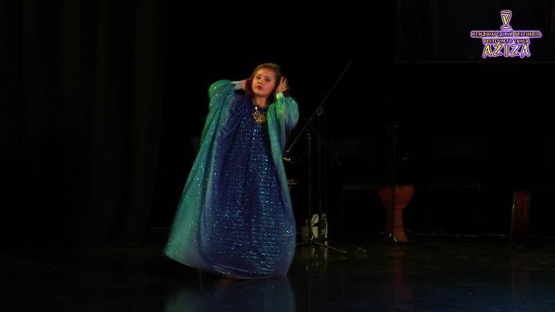 Молотюк Альбина_Aziza 2018_Oriental Folk