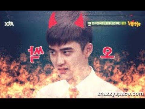 D.O kyungsoo Being D.O 😎😈 ( Evil , Savage , forced Aegyo )