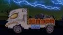 đáng sợ lorry Xe tải xe hơi Nhà để xe Xe tải cho trẻ em Học xe Scary Lorry Truck Car Garage