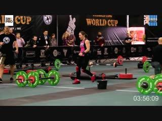 Кубок Мира по кросслифтингу женщины 65 кг. 10 ноября 2018 год