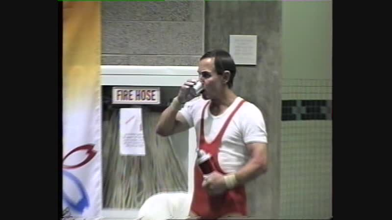 Олимпийские Игры среди ветеранов по Тяжелой Атлетике.Портланд .США 1998