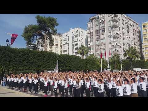 Erkan Koleji - Atatürk Çocukları isimli gösterimiz