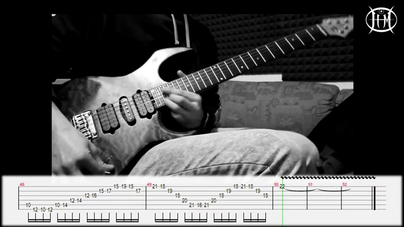 Symphony X - In The Dragon's Den - Guitar Solo Cover TAB - Marco J. Zinnia
