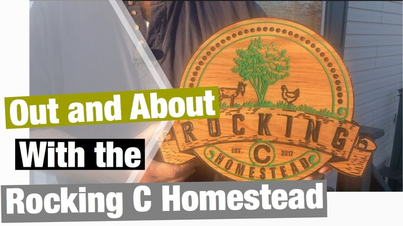 Out and About With the Rocking C Homestead!