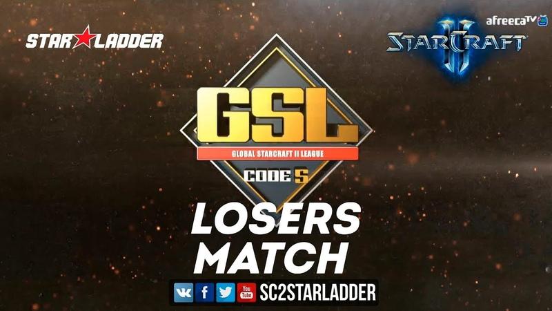 2018 GSL Season 3 Ro32, Group F, Losers Match: Ragnarok (Z) vs Bunny (T)