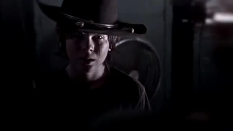 There wasn't way out for my little angel carl grimes vine the walking dead twd